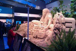 Tradeshow Sand Display