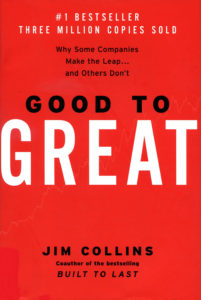 Jim Collins Good to Great Book Cover