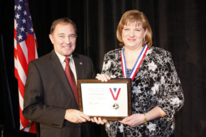 Nicole Toomey Davis Utah Governor's Medal Awards 2012