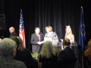 Nicole Toomey Davis Shaking Hands With Utah Governor