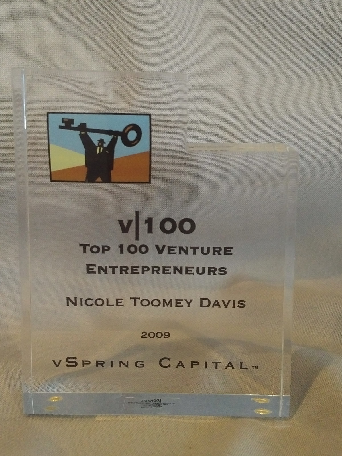 vSpring Top 100 Venture Entrepreneurs 2009 Nicole Toomey Davis