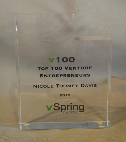 vSpring Top 100 Venture Entrepreneurs 2010 Nicole Toomey Davis