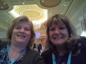 Nicole and fellow entrepreneur Linda