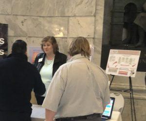 Nicole Toomey Davis at the Utah State Capitol