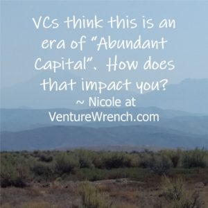 VCs Think This Is An Era OF Abundant Capital