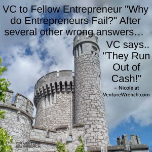 Why Do Entrepreneur's Fail? They Run Out of Cash